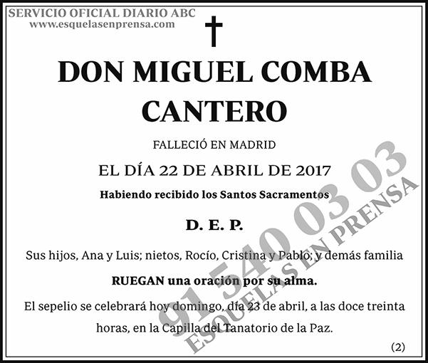 Miguel Comba Cantero
